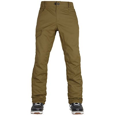 686 Parklan Shadow Mens Snowboard Pants, Olive, viewer