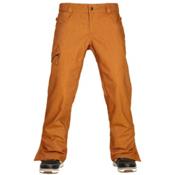 686 Authentic Raw Insulated Mens Snowboard Pants, Cognac Denim, medium