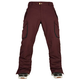 686 Authentic Infinity Cargo Mens Snowboard Pants, Black Ruby, 256