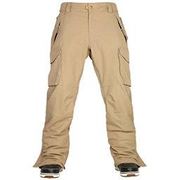 686 Authentic Infinity Cargo Mens Snowboard Pants, Khaki, 256