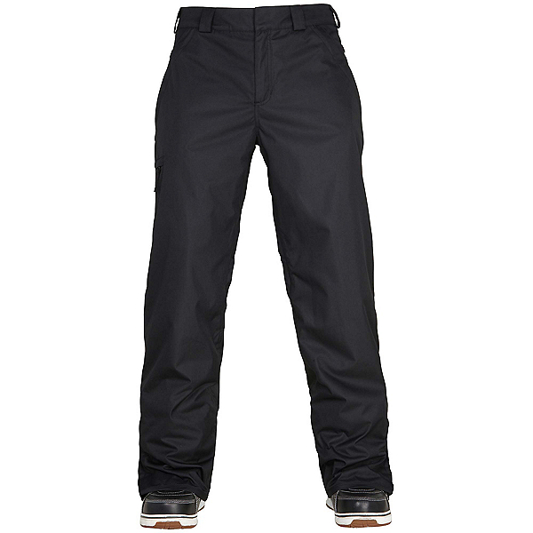 686 Authentic Standard Mens Snowboard Pants, Black, 600