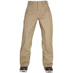 686 Authentic Standard Mens Snowboard Pants, Khaki, 256