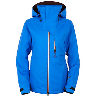 686 GLCR Solstice Thermagraph Womens Insulated Snowboard Jacket, Cobalt, viewer