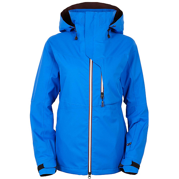 686 GLCR Solstice Thermagraph Womens Insulated Snowboard Jacket, Cobalt, 600