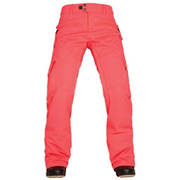 686 Authentic Mistress Insulated Womens Snowboard Pants, Electric Poppy, 256