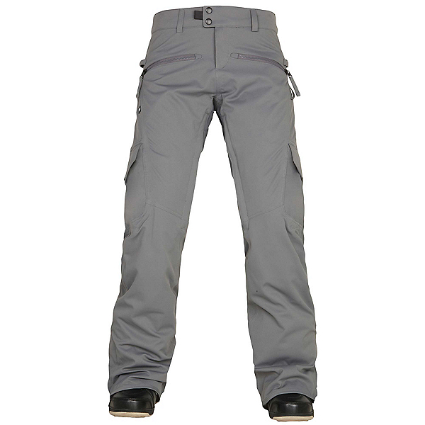686 Authentic Mistress Insulated Womens Snowboard Pants, Steel, 600