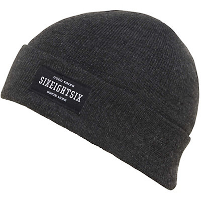 686 Good Times Roll Up Beanie, Black, viewer