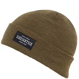 686 Good Times Roll Up Beanie, Olive Heather, 256