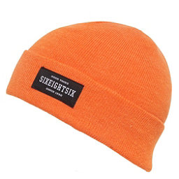 686 Good Times Roll Up Beanie, Orange, 256