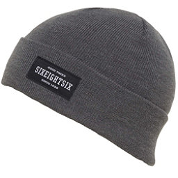 686 Good Times Roll Up Beanie, Steel Heather, 256