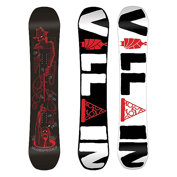 Salomon The Villain Wide Snowboard, , 600