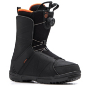 Salomon Faction Boa Snowboard Boots, Black-Orange Rust, medium
