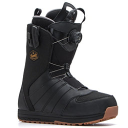 Salomon Launch Boa Str8jkt Snowboard Boots, Black, 256