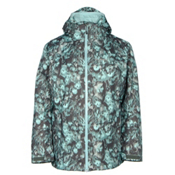 Columbia Whirlibird Interchangeable - Plus Size Womens Insulated Ski Jacket, Pond Floral Print, medium