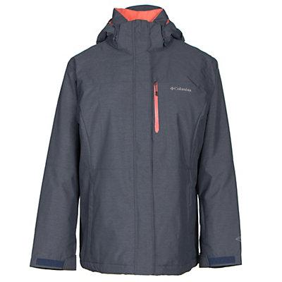 Columbia Alpine Action Omni-Heat Womens Insulated Ski Jacket, Nocturnal, viewer