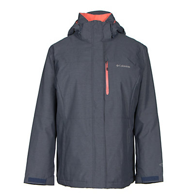 Columbia Alpine Action Omni-Heat - Plus Size Womens Insulated Ski Jacket, Nocturnal, viewer