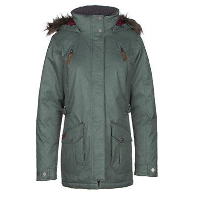 Columbia Barlow Pass 550 TurboDown w/Faux Fur Womens Jacket, Pond, viewer