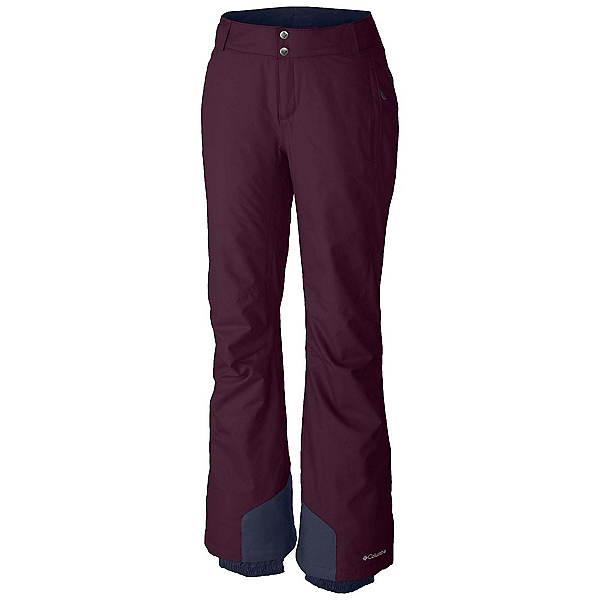 Columbia Bugaboo Omni-Heat Pant - Plus Size Womens Ski Pants, Purple Dahlia, 600