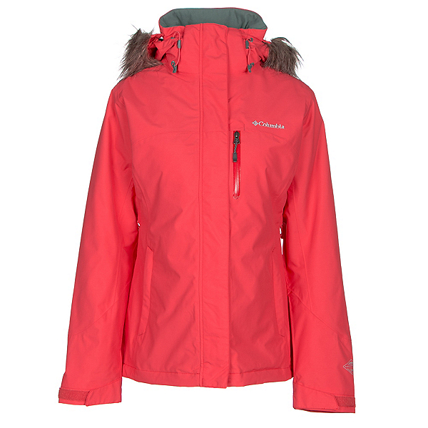 Columbia Lhotse Interchange w/Faux Fur Womens Insulated Ski Jacket, , 600