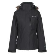 Columbia Lhotse Interchange Womens Insulated Ski Jacket, Black, medium