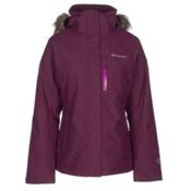 Columbia Lhotse Interchange Womens Insulated Ski Jacket, Purple Dahlia, medium