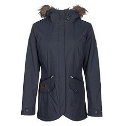 Columbia Grandeur Peak Mid Jacket w/Faux Fur, India Ink, 256