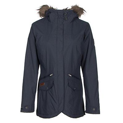 Columbia Grandeur Peak Mid Jacket w/Faux Fur, India Ink, viewer