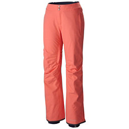 Columbia Veloca Vixen Plus Womens Ski Pants, Hot Coral, 256