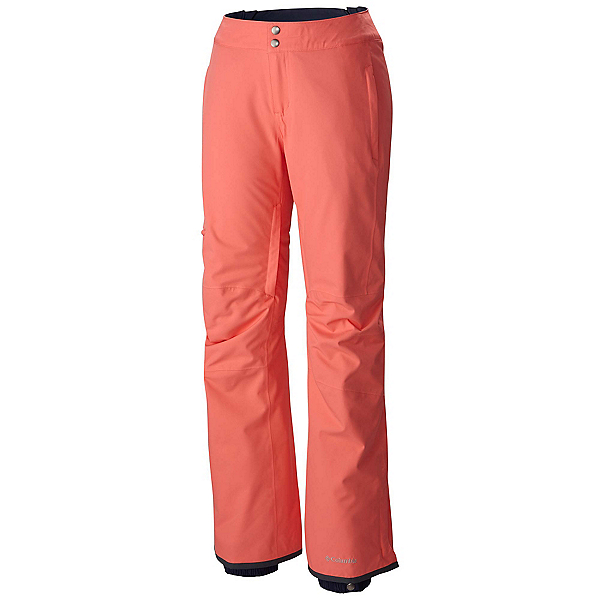 Columbia Veloca Vixen Plus Womens Ski Pants, Hot Coral, 600
