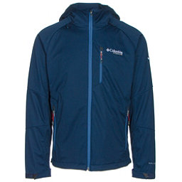 Columbia Zonafied Mens Soft Shell Jacket, Collegiate Navy, 256