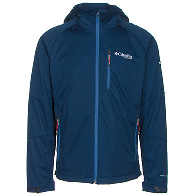 Columbia Zonafied Soft Shell Jacket, Collegiate Navy, viewer