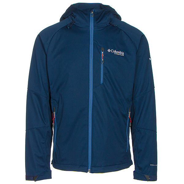 Columbia Zonafied Mens Soft Shell Jacket, , 600