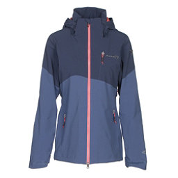 Columbia CSC Mogul Womens Shell Ski Jacket, Nocturnal-Bluebell, 256