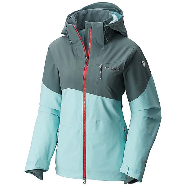 Columbia CSC Mogul Womens Shell Ski Jacket, Pond-Spray, 600