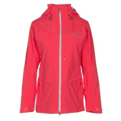 Columbia Carvin Womens Insulated Ski Jacket, Red Camellia, medium