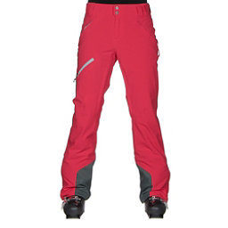 Columbia Zip Down Womens Ski Pants, Red Camellia, 256