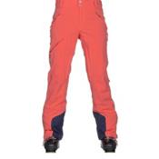 Columbia Zip Down Womens Ski Pants, Hot Coral, medium