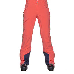 Columbia Zip Down Womens Ski Pants, Hot Coral, 256