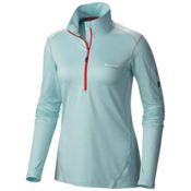 Columbia Diamond Peak Half Zip Womens Mid Layer, Spray Heather, medium