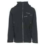 Columbia Carvin Mens Insulated Ski Jacket, Black, medium