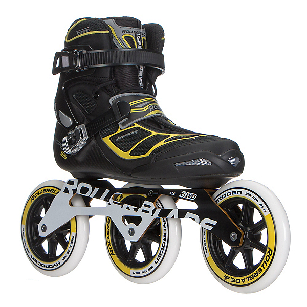 Rollerblade Tempest 125 3WD Inline Skates 2017, Black, 600