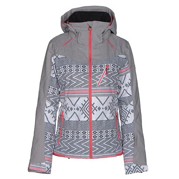 Roxy Sassy Womens Insulated Snowboard Jacket, Windy Road, 600