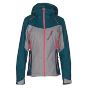 Roxy Sassy Womens Insulated Snowboard Jacket, Legion Blue, medium