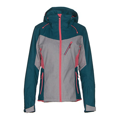 Roxy Sassy Womens Insulated Snowboard Jacket, Windy Road, viewer