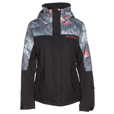 Roxy Jetty Block Womens Insulated Snowboard Jacket, Hawaiian Tropik, viewer