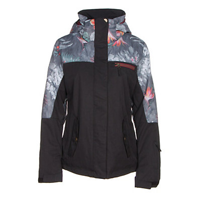 Roxy Jetty Block Womens Insulated Snowboard Jacket, , viewer