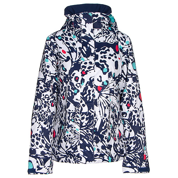 Roxy Jetty Womens Insulated Snowboard Jacket, Butterfly, 600