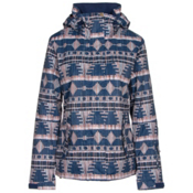 Roxy Jetty Womens Insulated Snowboard Jacket, Akiya Print, medium