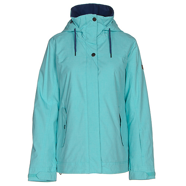 Roxy Billie Womens Insulated Snowboard Jacket, Blue Radiance, 600