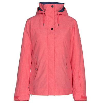 Roxy Billie Womens Insulated Snowboard Jacket, Paradise Pink, viewer